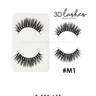 Bella 3D Mink Lashes - False Eyelashes