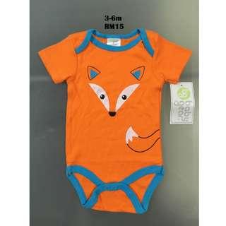 Baby Gear Onesie Bodysuit Romper for 3-6m
