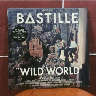 Wild World by Bastille Vinyl Record Plaka LP CD