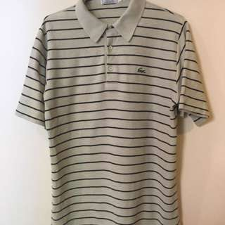 Vintage Lacoste Striped Polo