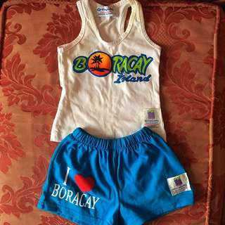 Boracay souvenir terno for baby boy