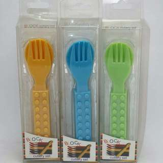 Block Cutlery Set