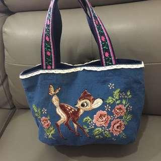 Disney bambi canvas bag