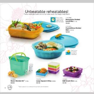 (Refer description) Tupperware Reheatable series