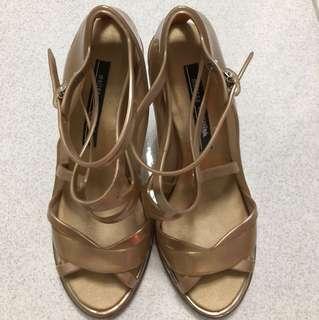 Melissa x Jean Paul Gaultier strappy heels
