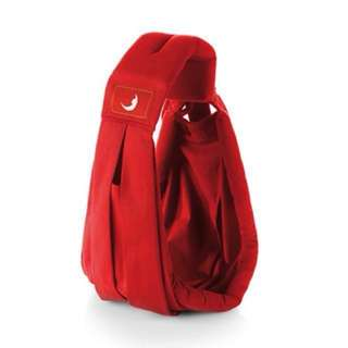 The Baba Sling Standard Baby Carrier (red colour)