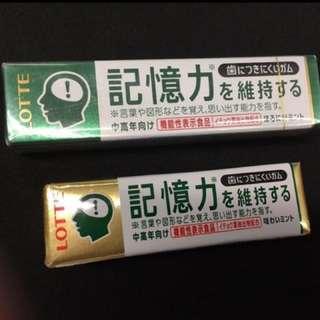 (現貨)記憶力香囗膠😍💕(每款HK$7)(日本直送)DSE神器 (大學站丶馬鞍山站丶太和站交収)