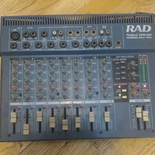 Roland CPM-300 錄音人必備神器, 八軌mixer混音器 內建擴大機