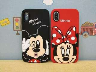 Disney character rubber case