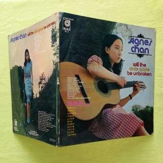 AGNES CHAN 陳美齢 will the circle game be broken. Vinyl record