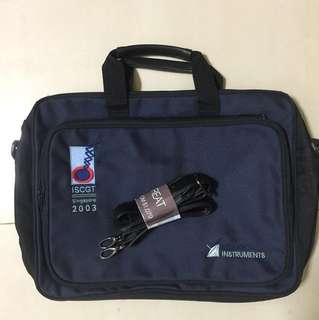 Brand New ISCGT 2003 Expandable Carrier Bag
