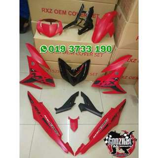 COVERSET Y15ZR MX KING RED KING 2017