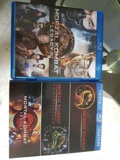 Mortal Kombat Blu Ray