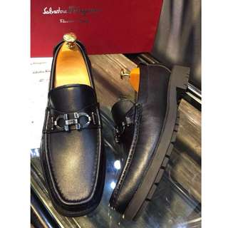 EAWEDGOS 2018 All Size Salvatore Ferragamo Leather Formal Casual Shoe