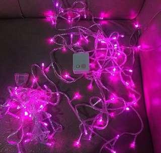 Lampu tumblr pink