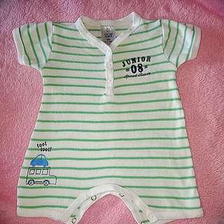 Baby Boy Romper 0-3mos
