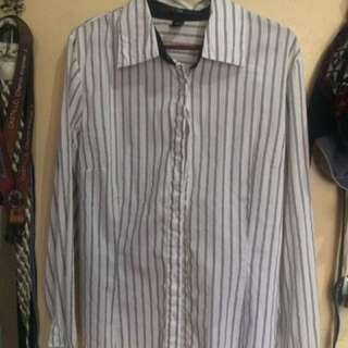 H&M Striped Long Sleeves