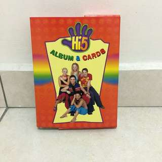 Hi5 Album & Cards