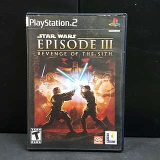 PS2 Star Wars Episode III: Revenge of the Sith (Used Game)