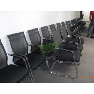 s SLED TYPE VISITORS CHAIRS--KHOMI