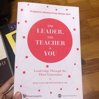 The leader the teacher and you
