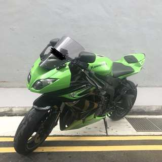Used Kawasaki ZX600R For Sale!! COE Expiry Date: 23 December 2020