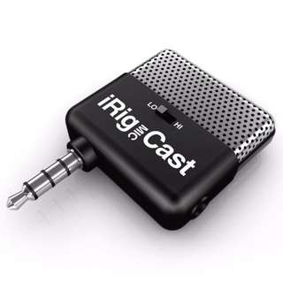 lK multimedia iRig Mic cast 便攜式迷你麦克風迷你話筒for iPhone6/6S