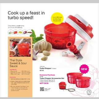 $52 Tupperware Turbo Chopper