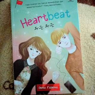 Korean Novel : Heartbeat by Orina F Azrina