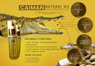 Crocodile Oil