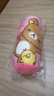 拉拉熊粉色抱枕