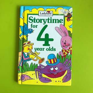 Children's Story Book - Storytime for 4 Year Olds