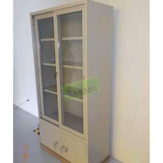 KG88B Upper part Sliding glass lower part Swing steel door