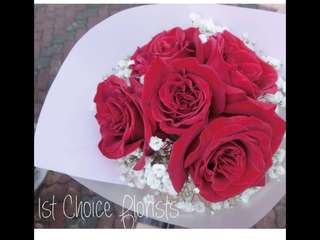 Valentine's day  Rose Bouquet ( self collection )