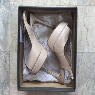 Charles and Keith Nude Stiletto