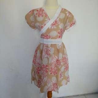 Dress Bunga Lucu