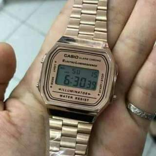 CASIO WOMEN LIMITED EDITION ROSE GOLD