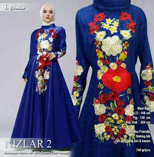 NIZLAR DRESS  BY.DU aneka warna part3