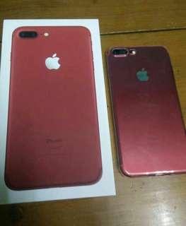 Apple iphone 7 red plus