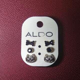 Aldo Cat Earrings Set