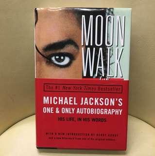 Moonwalk by Michael Jackson hard cover