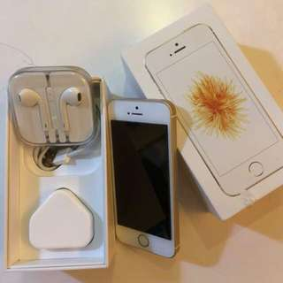 Iphone SE 64gb Gold like NEW