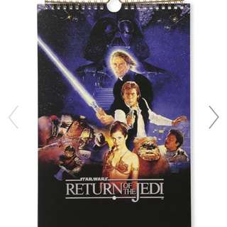 Typo 2018 Get A Date Calendar - Star Wars