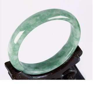 天然玉鐲翡翠色玉手鐲女款玉石 此款屬於客製化商品