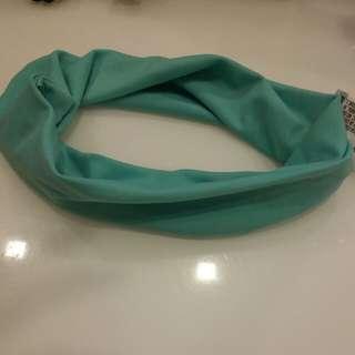 Green headband hairband