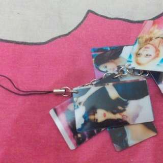SNSD Girls' Generation Unofficial Phone Strap