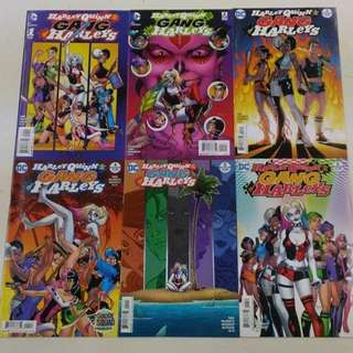 Harley Quinn and Her Gang of Harleys Comics Set