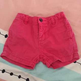 Baby Poney Pink Shorts