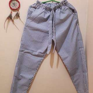 Blue Trouser (Stripes)