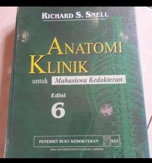 Nego! Buku Kedokteran Anatomi Klinik Snell Edisi 6
